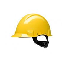Casco, sin ventilación, con arnés de ruleta y banda sudor plástico G3001 (20 cascos)