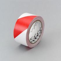 Cinta de marcaje uso general 33 m x 50 mm 767I Rojo/Blanco (24 rollos)
