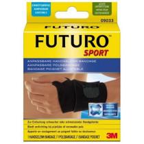 Muñequera pulgar negra FUTURO™ (12 muñequeras)