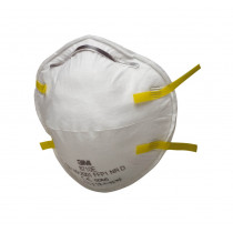 Mascarilla FFP1 NR D moldeada s/válvula - embalaje pequeño 8710 (40 mascarillas)
