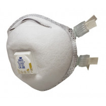 Mascarilla FFP2 NR D c/válvula para soldadura y ozono - embalaje pequeño 9925 (40 mascarillas)