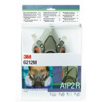 """Kits """"Listos para usar"""" Media máscara y filtro Pack 6200 A1P2 R (6051 A1+ 5925 P2R) - 4 kits"""