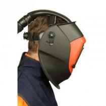 Pantalla soldadura, visor interior sin tono y exterior abatible con filtro inactínico (90 x 110) mm HT-639