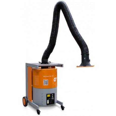 Aparato de aspiración para humos de soldadura de alta capacidad con cambio de filtro seguro (ref. MAXIFIL)