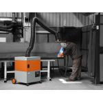 ProfiMaster Aparato aspiración para humos de soldadura calidad robusta con filtro alto rendimiento 1 brazo (ref. PROFIMASTER01)