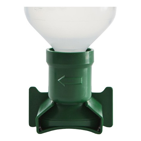 Soporte de pared verde de 200ml, 500ml y 1.000ml - EW10