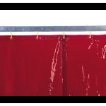 Cortina soldadura color naranja - EN 1598 & ISO EN 25980 (ref. 1615_)