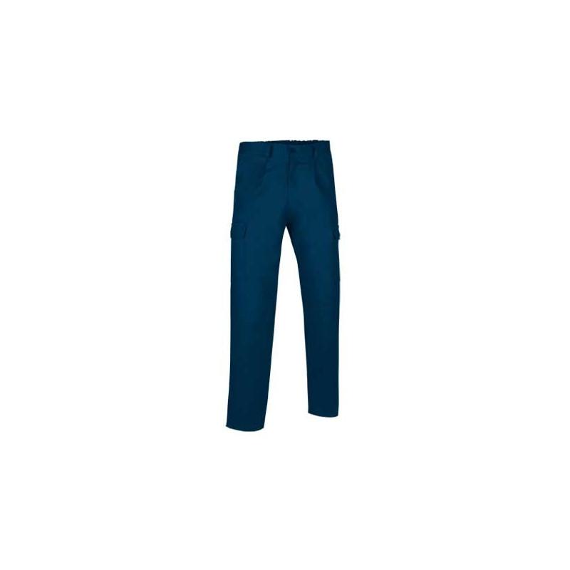Pantalón de trabajo largo multibolsillos con pinzas (ref. SOLID)