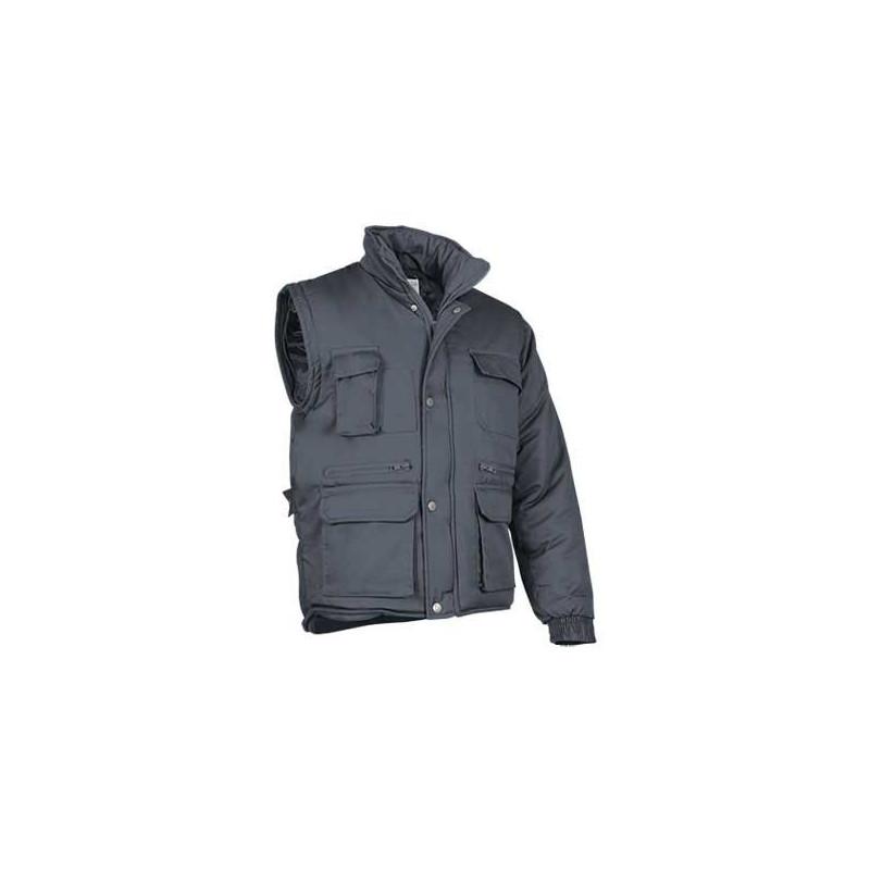 Chaqueta de abrigo 2 en 1 (puede convertirse en chaleco) (ref. MARVEL)