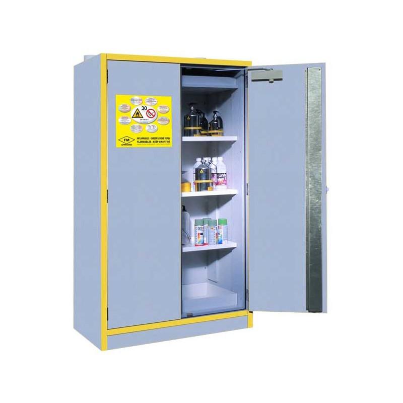 Armario seguridad TIPO 30min. productos inflamables EN 14470-1 & FM 6050 (ref. SC30-2)