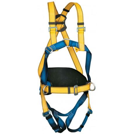 Arnés anticaídas dorsal y esternal con cinturón P56 - EN361 y EN358