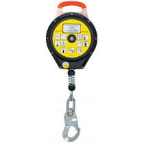 Bloque anti caídas retráctil de cable de 6-10-15 m - EN360 (ref. CR200)
