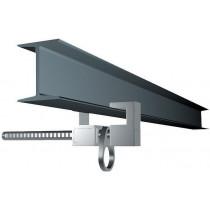 Punto de anclaje en aluminio para vigas metálicas - EN 795 clase B (ref. AT250)