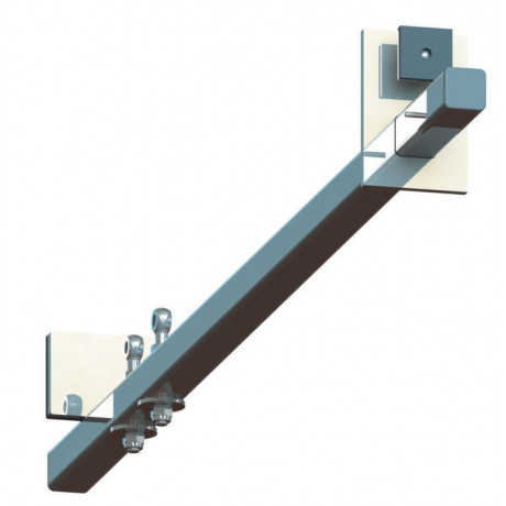 Barra seguridad puertas y ventanas en acero - EN 795 clase B (ref. AT060)