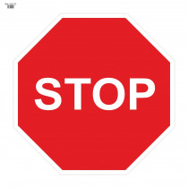Señal Vial de Bolsa Stop 700 x 700 mm