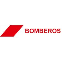 Cinta de Balizamiento Bomberos 75 mm x 200 m x 0'05 mm