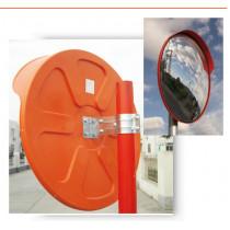 Espejo Exterior Diámetro 80 cm (Valido También Para Interior Para Tubos de 75 mm de Diámetro)