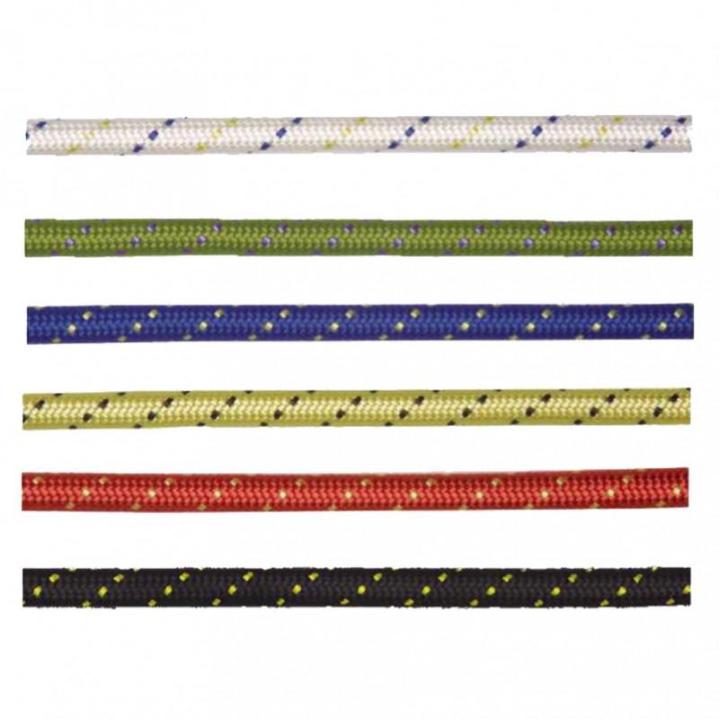 Cuerda estática Kernmantle de Ø10,5 mm color blanca (ref. LL110)