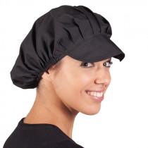 Gorra Popelín Negra (10 Unds)