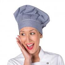Gorro chef velcro vichy
