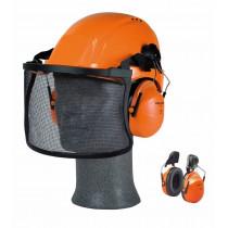 Orejera azul claro para casco con anclaje P3E H31P3E 300BA (20 pares)