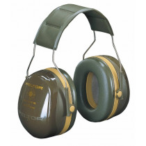 Bull´s Eye III Orejera diadema verde militar H540A441GN (20 orejeras)
