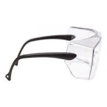 OX1000 Cubregafas montura negra PC incolora patillas estándar 17-5118-0000P (20 gafas)