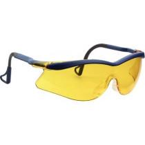 QX2000 Gafas montura azul PC amarilla DX patilla giratoria 04-1022-0146M (20 gafas)