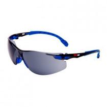 SOLUS 1102 Gafas negro/azul PC gris, recubrimiento SCOTCHGARD. S1102SGAF-EU (20 gafas)