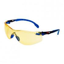 SOLUS 1103 Gafas negro/azul PC amarillo, recubrimiento SCOTCHGARD. S1103SGAF-EU (20 gafas)
