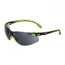 SOLUS 1202 Gafas negro/verde PC gris, recubrimiento SCOTCHGARD. S1202SGAF-EU (20 gafas)