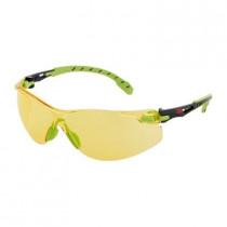 SOLUS 1203 Gafas negro/verde PC amarillo, recubrimiento SCOTCHGARD. S1203SGAF-EU (20 gafas)