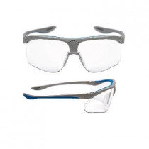 MAXIM SPORT Gafas montura plata/azul PC incolora DX 13240-00000M (20 gafas)