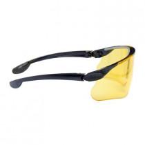 MAXIM BALLISTIC Gafas montura negra PC amarilla DX 13299-00000M (20 gafas)