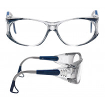 EAGLE Gafas montura azul CR 39 incolora AR 01-3022-10M (20 gafas)