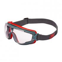 GOGGLE GEAR 500 Gafas ventilación indirecta, PC incolora, recubrimiento SCOTCHGARD. GG501SGAF-EU (10 gafas)