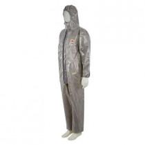 Prenda de protección frente a polvo, salpicaduras leves, nieblas de producto químico, Gris, tipo 3/4/5/6 4570 (12 Unds)