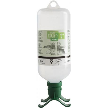 Botella lavaojos portátil soluciones 1.000ml DUO de lavado de ojos para las lesiones mecánicas - EW05