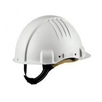Casco alta temperatura, sin ventilación, arnés estándar, banda sudor piel. G3501D (20 cascos)