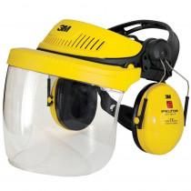 Combinación industrial: Arnés G500-GU, pantalla 5F-11 y orejeras Optime I (P3E) amarillo G500V5F11H510-GU (12 combinaciones)