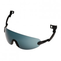 Gafas universales para acoplar a casco, gris V6B (20 gafas)