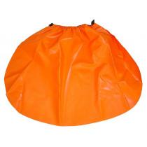 Cubre-lluvia color naranja GR1C (20 cubre-lluvias)