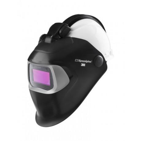 Pantalla 100 con filtro 100V y QR y con casco H701