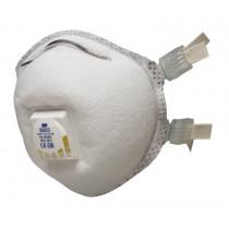 Mascarilla FFP2 NR D c/válvula para soldadura y ozono 9925 (80 mascarillas)