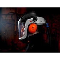 Casco con visor de policarbonato y ajuste facial M-300