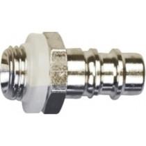 """Conector rápido para unidad de cintura - Rectus 25 macho rosca macho 1/4"""" BSP 5301252P (3 conectores)"""