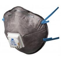 Mascarilla FFP2 NR D c/válvula para vapores orgánicos menor VLA y ozono 9922 (100 mascarillas)