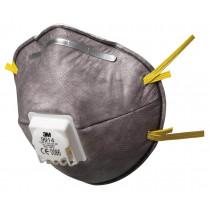 Mascarilla FFP1 NR D c/válvula para vapores orgánicos menor VLA embalaje pequeño 9914 (40 mascarillas)