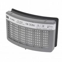 Filtro partículas P y vapores orgánicos menor VLA (olores) Versaflo TR300 TR3802E (5 filtros)