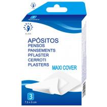 Maxicover apósito tnt blanco (1 tam) 10 Unidades.